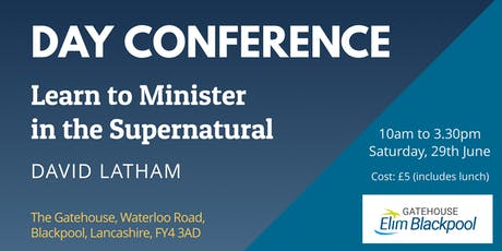 Learn to Minister in the Supernatural tickets