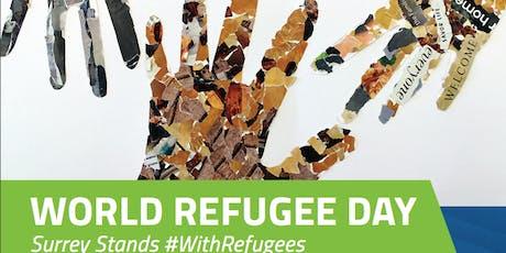 WORLD REFUGEE DAY:  SURREY STANDS #WithRefugees tickets