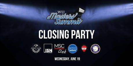 Masters Summit Closing Party Tickets