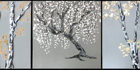 Mixed Media Tree Painting Class tickets
