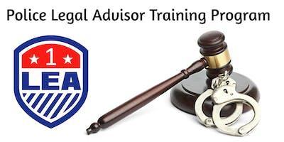 Police Legal Advisor Training Program 2020
