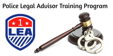 FEB 25 Cocoa Beach, Florida - Police Legal Advisor Training Program 2020 tickets