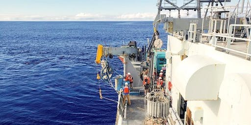 """Dr. Hilairy Hartnett's """"Cruising and Coring the Southern Ocean in Search of Past Climates"""" Lecture"""