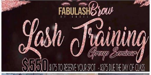 LA Eyelash Extension Workshop + Business Branding