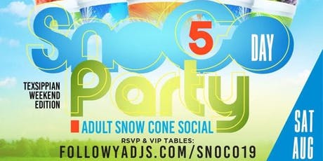 SnoCo Day Party 5th Annual Snow Cone Social at Union Park tickets