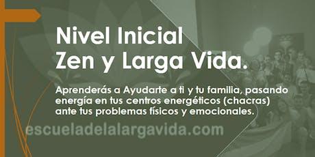 Nivel Inicial Zen en Rosario: 29,30 y 31 de Julio. entradas