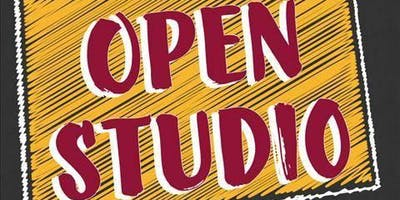 OPEN STUDIO CHECK IN AT 12:00pm done by 3:00PM