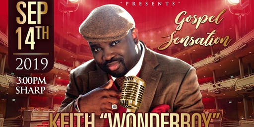 "Gospel Concert - ""Keith Wonderboy Johnson"""