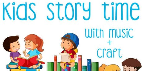 Free Kids Event: Kids Story Time with Music + Craft tickets
