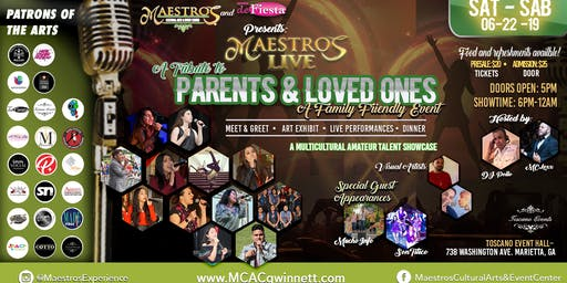 Maestros Live VII: A Tribute to Parents & Loved ones