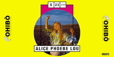 Alice Phoebe Lou in concerto all'Ohibò biglietti
