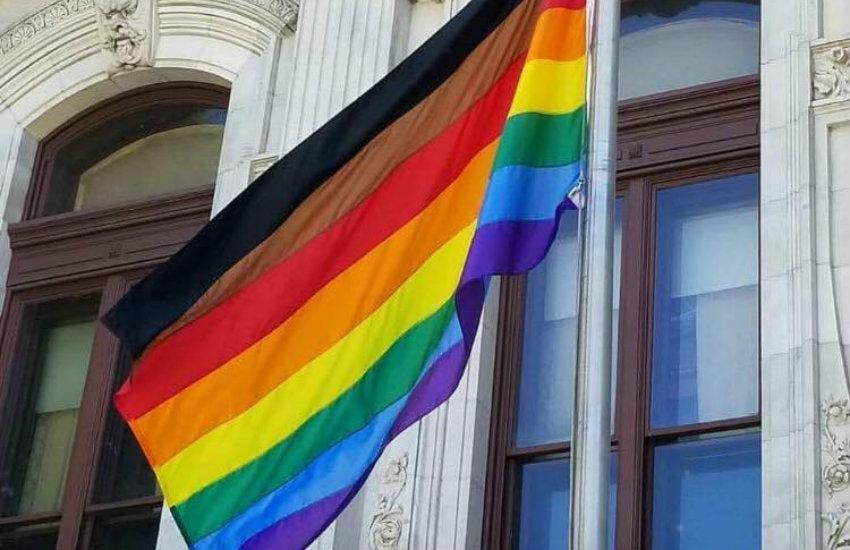 Innisfil Pride Flag Raising