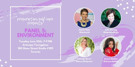Prescription Self-Care Panel Series Part 5: Environment tickets