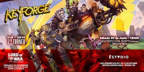 1er Torneo de KeyForge - Quito entradas