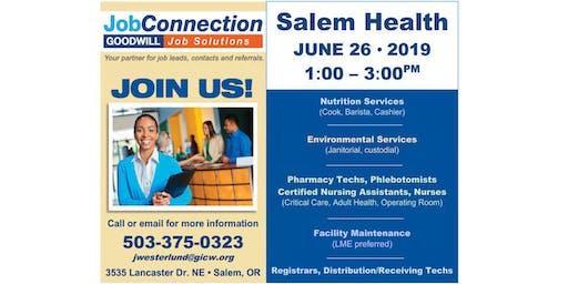 Hiring Event - Salem - 6/26/19