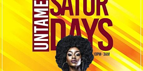 Untamed Saturdays tickets
