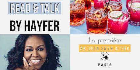"""Read & Talk : """"Devenir"""" by Michelle Obama billets"""