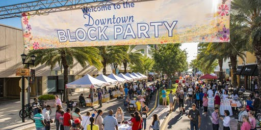 Clearwater Tropical Downtown Block Party