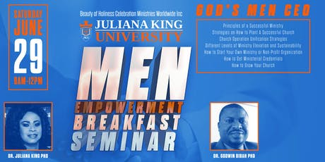 Men Empowerment Breakfast Seminar tickets
