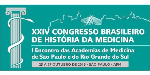 XXIV Congresso Brasileiro de História da Medicina