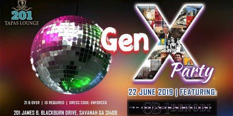 Gen X: 70s, 80s & 90s Party tickets