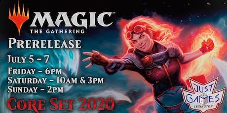 Core Set 2020: Prerelease tickets