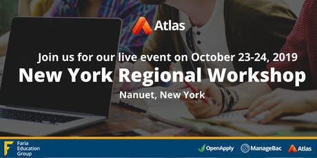 New York Regional Workshop tickets