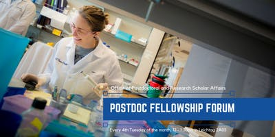 Postdoc Fellowship Forum