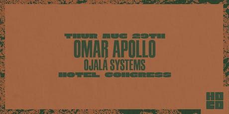 Omar Apollo at Hotel Congress tickets