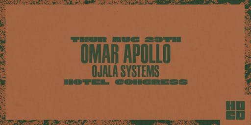 Omar Apollo at Hotel Congress