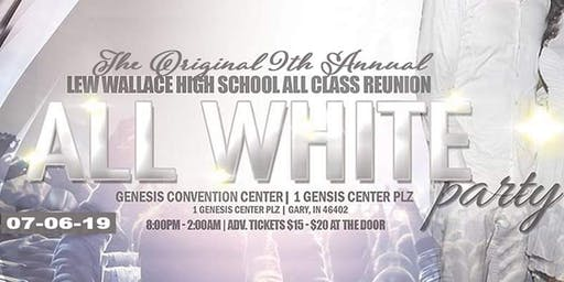 "LEW WALLACE H.S . ALUMNI ""ALL WHITE PARTY"""