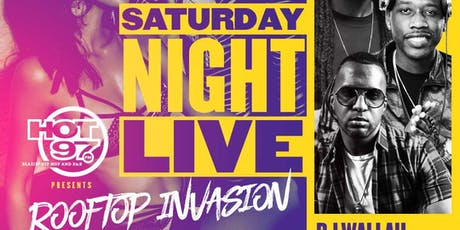 SATURDAY NIGHT LIVE - ROOFTOP INVASION  tickets