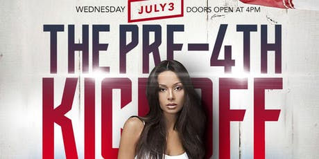 The PRE-4TH KICK-OFF @ Blue Martini [The Shops at Legacy] tickets