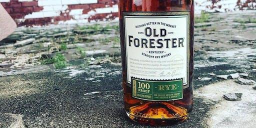 Old Forester Rye Tasting