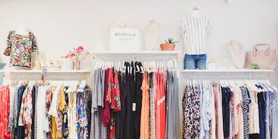 Boutique 44 Summer Sip & Shop in Downtown Bel Air