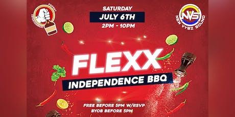 Flexx: Independence BBQ tickets