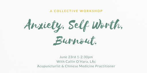 Anxiety, Self-Worth & Burnout- with Sun Tree Healing