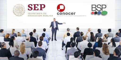 Info. Acreditate como Evaluador Ind. y comercializa certificaciones CONOCER