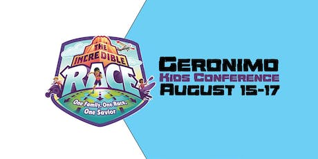 Geronimo Kid's Conference - The Incredible Race tickets