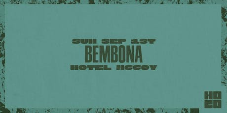 HOCO Pool Party ft Bembona at Hotel McCoy tickets
