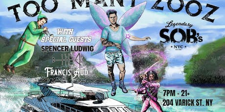 Too Many Zooz with support from Spencer Ludwig tickets