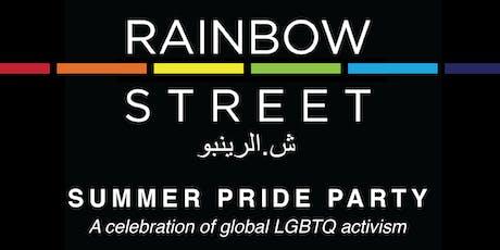 Rainbow Street's Summer Pride Party tickets