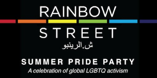 Rainbow Street's Summer Pride Party