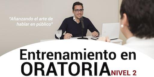 ENTRENAMIENTO EN ORATORIA - NIVEL 2 - CORRIENTES CAPITAL - 23/08