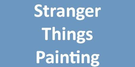 Stranger Things Painting Class  tickets