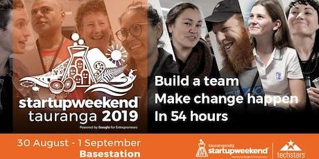 Tauranga Startup Weekend_Sustainable Development Goals (SDG)  tickets