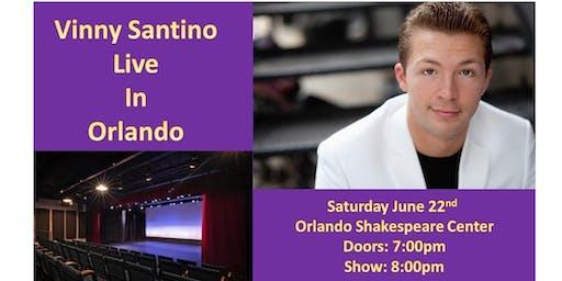 Vinny Santino Live in Orlando