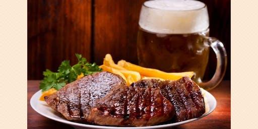 ¡Día del padre: corte de carne + 2 cervezas por tan sólo 259 pesos!