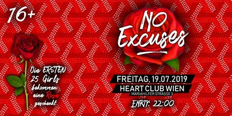 NoExcuses - Summer Edition 19.07.2019 Tickets