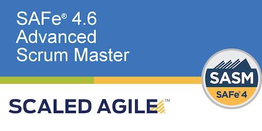 SAFe® 4.6 (Scaled Agile Framework) Advanced Scrum Master with SASM Certification - Singapore